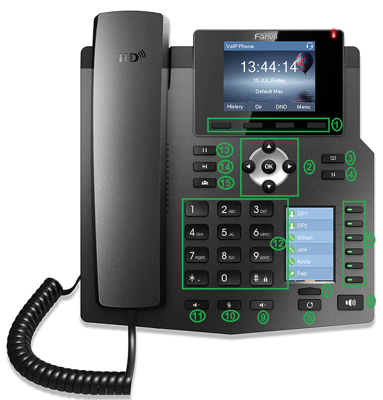 טלפון X4 מבית Fanvil